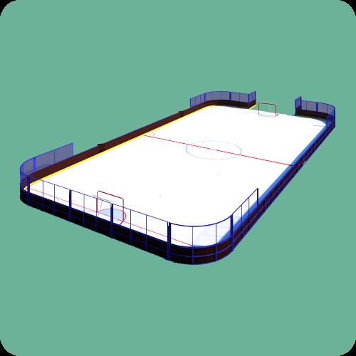 Готовые хоккейные площадки